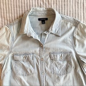 Lands' End Chambray Shirt 10T